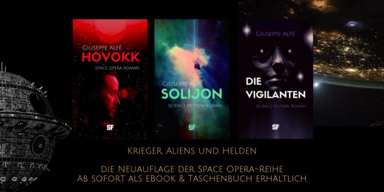 buchsonar werbung_ Krieger, Aliens und Helden