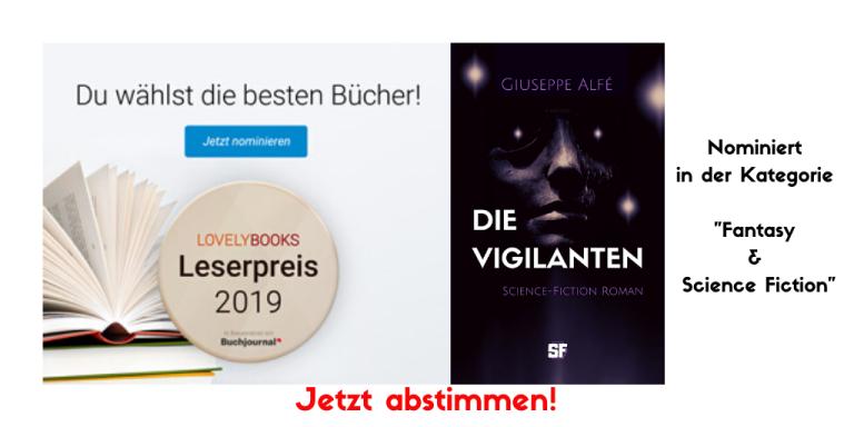 Lesepreis 2019 Die Vigilanten_Jetzt abstimmen!